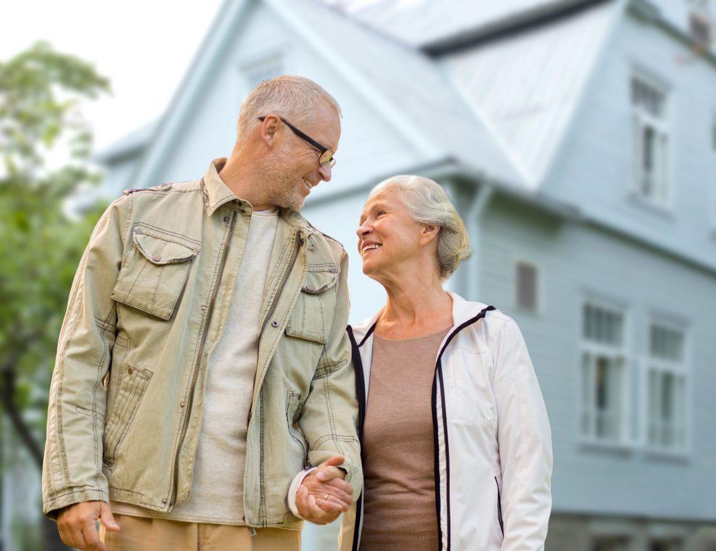 Immobilie verkaufen für Senioren